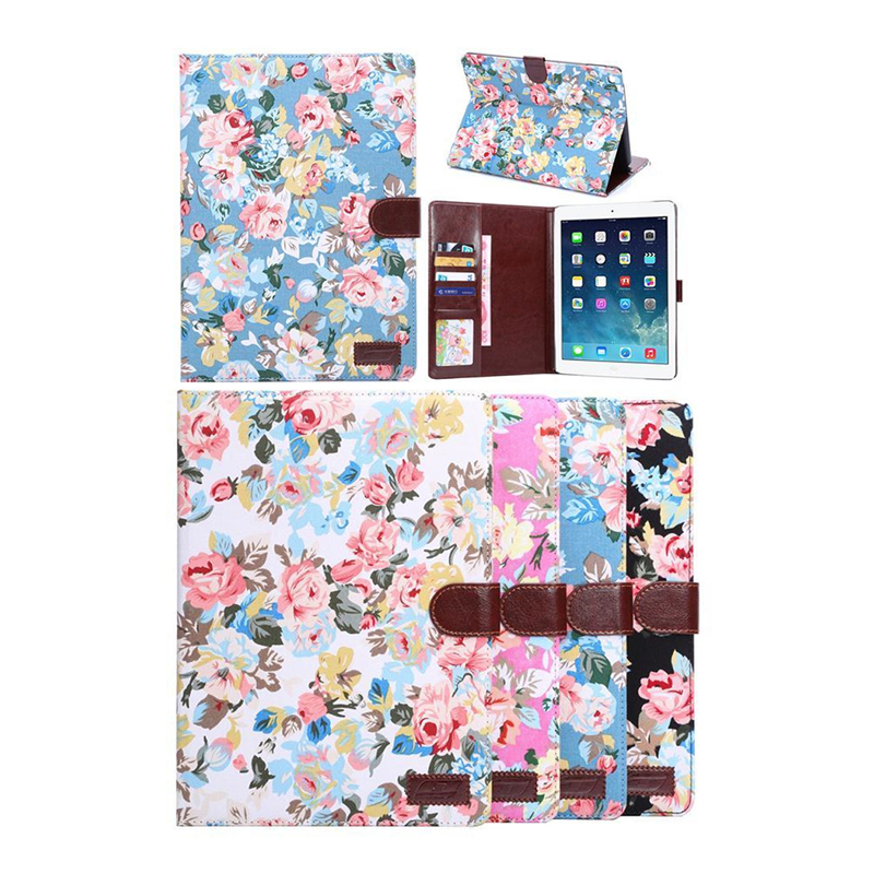 Printed Pattern Lovely Cute Cover For Apple iPad Air 2 Cover Case Stand Case For iPad Air 2 Case for case apple ipad air 2 cute kids gift animal prints pu leather tpu case cover stand flip kids cover for ipad air 2 coque