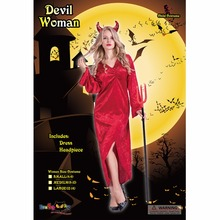 Halloween Female Devil Cosplay Costumes