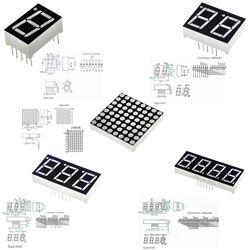 0,56 дюймов 7 сегментов 1 бит/2 бит/3 Бит/4 бит цифровой трубки Красный общий катод светодио дный светодиодный цифровой дисплей 8x8 светодио дный
