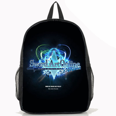 New Sword Art Online Backpack cosplay Kirigaya Kazuto Asada shino Anime Nylon Laptop School Bag