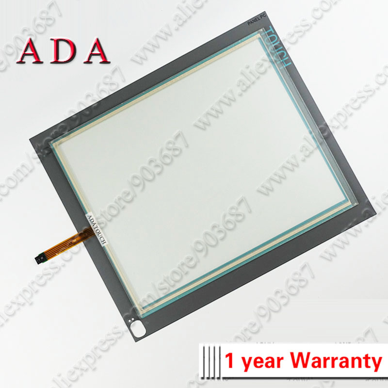 New Touch Screen Panel Glass Digitizer for 6AV7875 1BA20 0AC0 3 3mm Thickness with Front Overlay