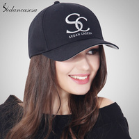 Newest Unisex Brand Embroidery SC 100 Cotton Baseball Cap Grey Blue Pink Black Wine Red Female