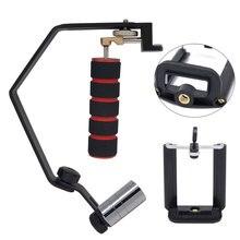 Estabilizador de cámara Mini portátil estabilizador Steadycam estabilizador de Vídeo Profesional Para El Teléfono Móvil del teléfono Móvil Cámara Gopro