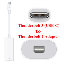 40Gbps USB-C Thunderbolt 3 Port to Thunderbolt 2 Adapter for 2016 Macbook Pro Display MC914 & Hard Disk
