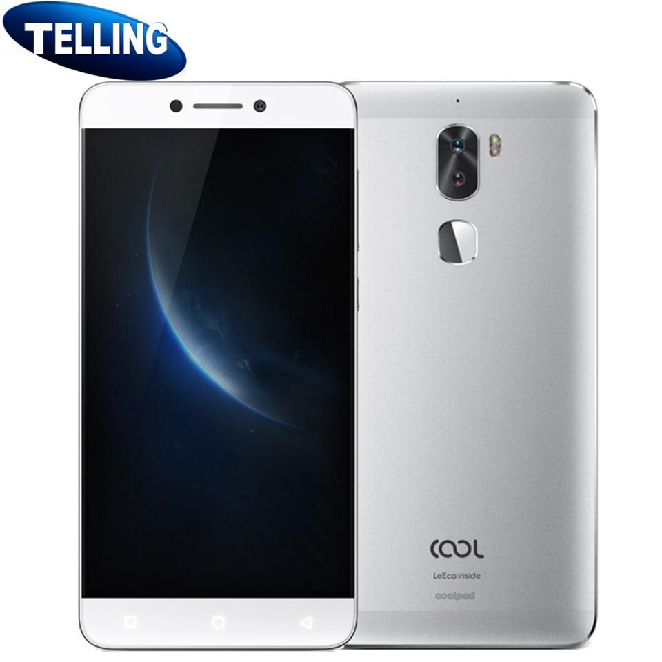 "bilder für Ursprüngliche Letv LeEco Kühle 1 Dual Handy Android 6.0 4G LTE Snapdragon 652 Octa-core 5,5 ""Fingerprint ID 13MP 4060 mAh Typ C"