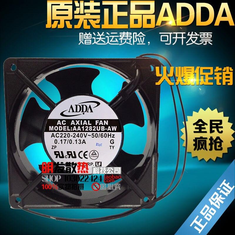 Original 0.17A AA1282UB-AW AC220-240V high speed cooling fan original fan ac220 240v 6c 230absl cooling fan