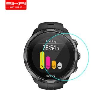 3 шт. защитная пленка из закаленного стекла для спортивных часов Suunto Spartan Защитная пленка для смарт-часов Suunto d42мм