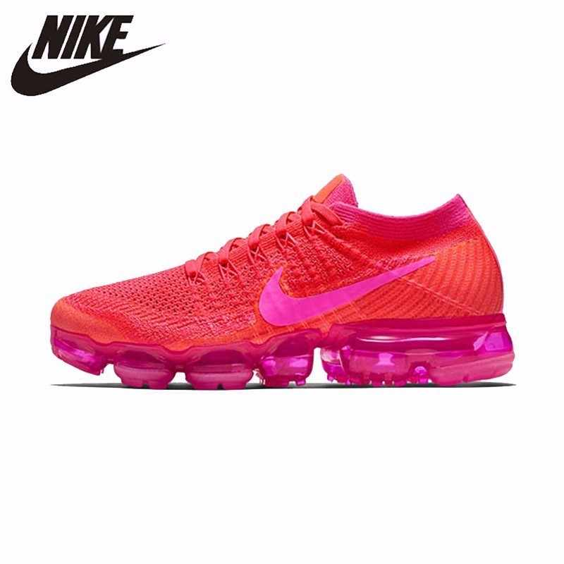 best service beb5e 2c6df NIKE Air Vapor Max New Arrival Original Running Shoes Footwear Super Light  Breathable Sneakers For Women Shoes #849557-604