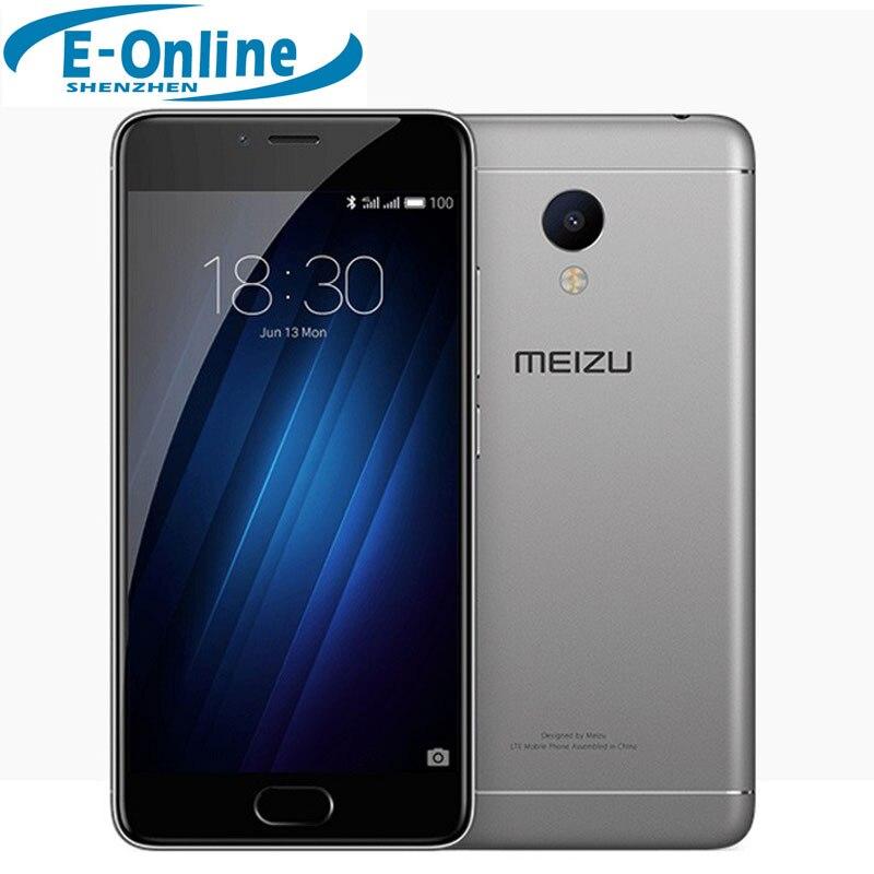 """bilder für Auf Lager! ursprüngliche Meizu M3s Mini 4G LTE Handy 2.5D Glas MT6750 Octa-core 5,0 """"2 GB RAM 16 GB ROM 13MP 4G LTE Fingerabdruck"""
