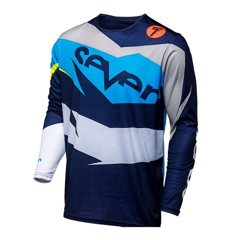 2019 Seven motocross jersey downhill jersey mountain bike jersey in Cycling Jerseys from Sports Entertainment