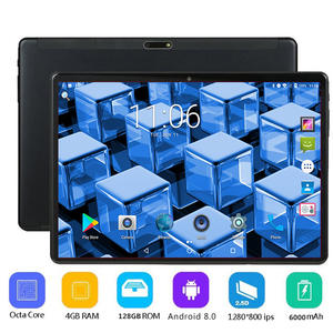10inch Tablet Sim-Cards Bluetooth 128GB-ROM Android Octa-Core Dual Gift 4G LTE 64G 4GB