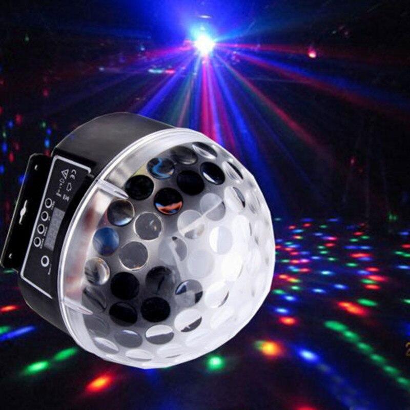 20 W LED numérique rvb cristal effet boule magique lumière DMX 512 Disco DJ éclairage de scène pour Club maison divertir