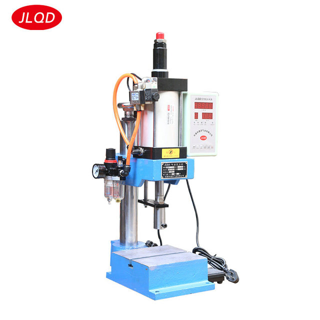 Single column type JNA100 adjustable 500 kg miniature pneumatic components press punch small punching bench Pneumatic machinery