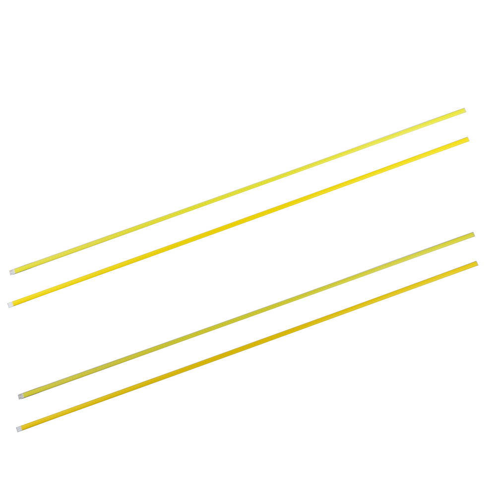 By EMS 10W 12V Ultra Bright COB LED White/Warm White Strip Light Lamp source Chip For DIY 600MMx6MM  lighting project Wholesale 5pcs lot waterproof 60cm 40cm 30cm 20cm cob strip led bar lights for car lamps diy led lighting dc 12v 10w 20w warm cold white