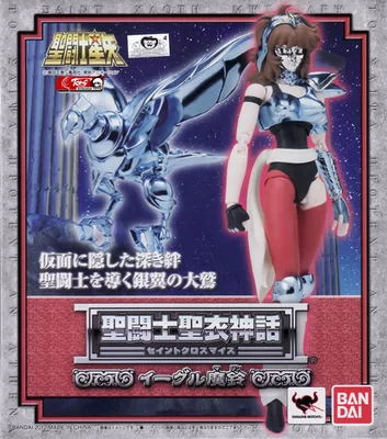 New Arrival  bandai Sanctuary saint seiya Master cloth myth silver saint Femail Saint aquila eagle marin S53