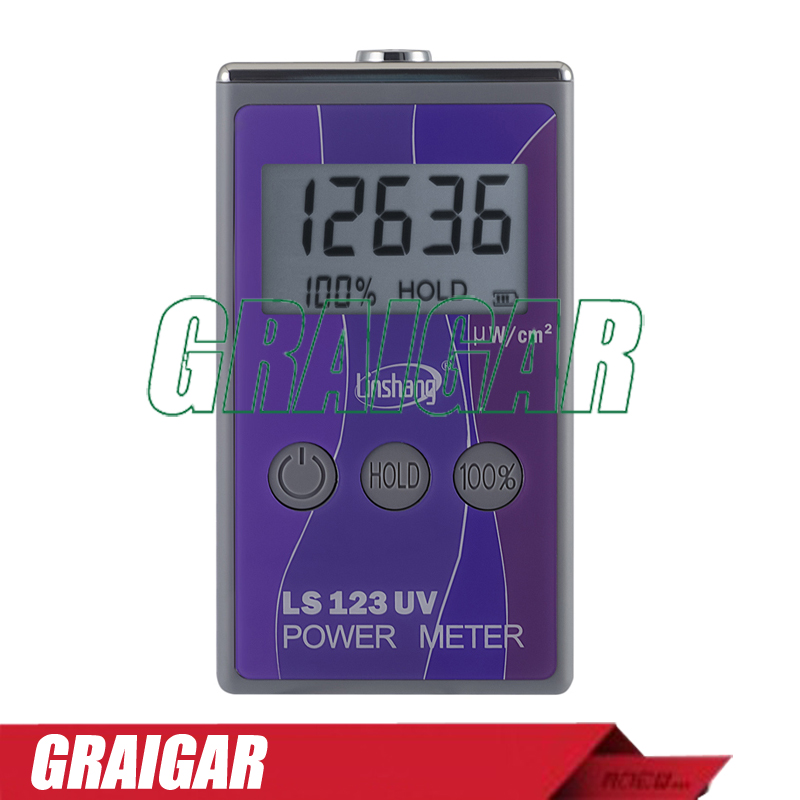 Fast Shipping LS123 UV power meter With +/-10% AccuracyFast Shipping LS123 UV power meter With +/-10% Accuracy