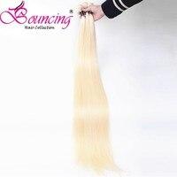 Bouncing Hair 613 Straight Human Hair Extensions 100% Remy Hair 10 30 Inch 32 34 36 38 40 42 44 46 48 50 Inch Brazilian Bundles