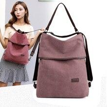 كفكي 2020 حقيبة من القماش الإناث نمط preppy المرأة حقيبة ظهر مدرسية سيدة السفر الكتف على ظهره حقائب نهارية عادية Mochilas