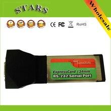 Express Card ExpressCard 34mm à RS232 RS-232 Db9 Port D'extension de Carte Adaptateur Adaptateur Pc Portable Windows XP Vista