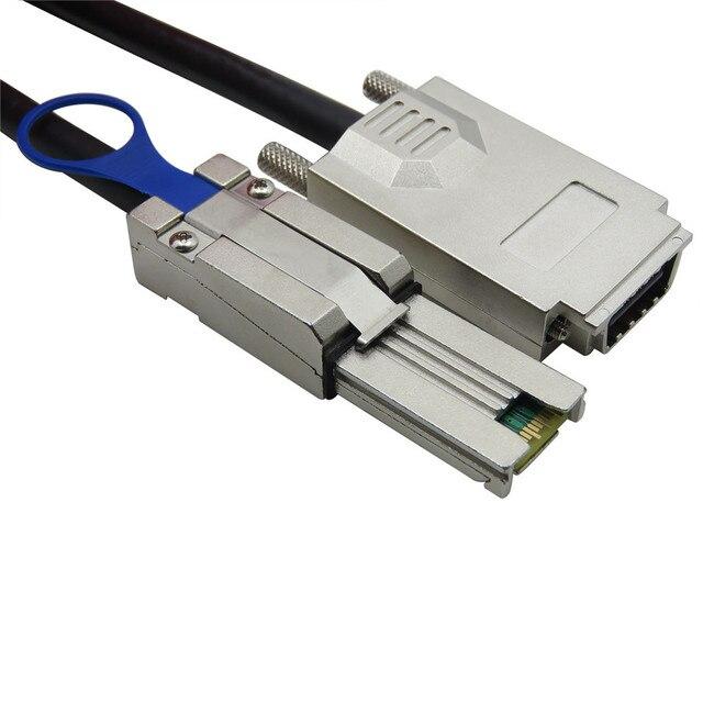 БЕСПЛАТНАЯ ДОСТАВКА высокоскоростной 10 Гбит Внешний Infiniband Винт Типа Кабеля SAS 32 P SFF 8470 SFF 8088 4i 2 М
