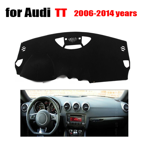 Fuwayda New Arrival Dashboard Protection Pad For Audi Tt 2006 To 2017 Years Car Avoid Light Instrument Platform