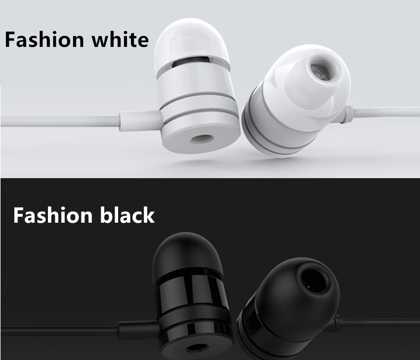 New 3.5mm In-Ear Wired  Earphone & Earphone For IPHONE For Samsung Xiaomi for Android Smartphone MP3 MP4 new 3 5mm in ear wired earphone