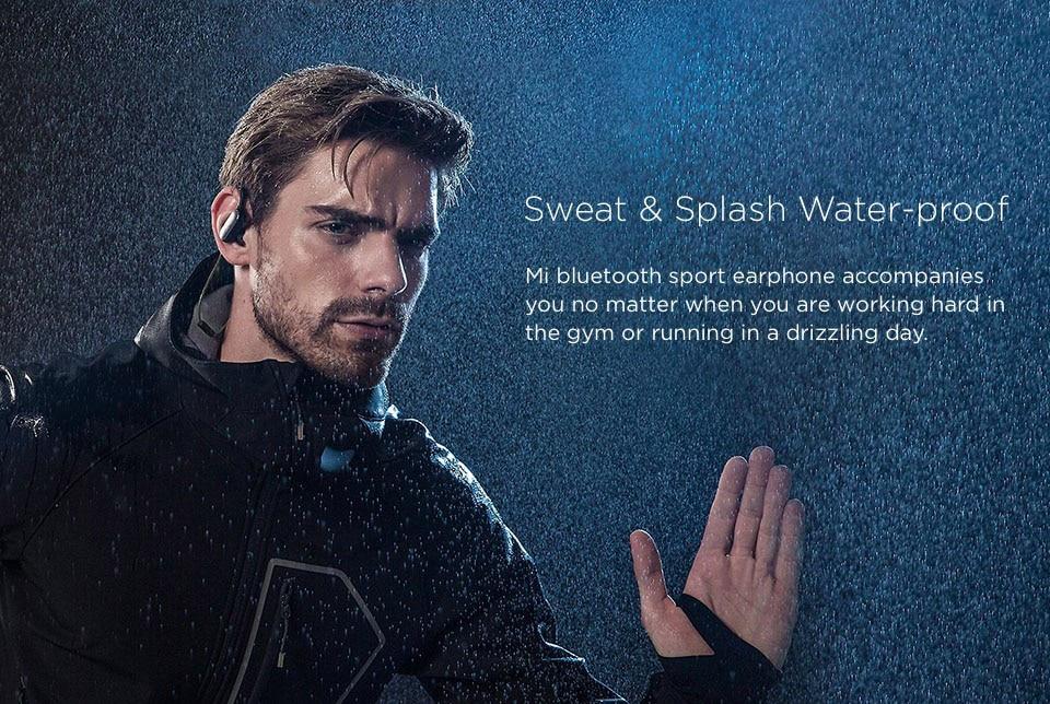 Original Xiaomi Mi Sports Running Bluetooth 4.1 Headset Wireless Music Headphones Earbuds Earphone Waterproof Sweatproof Xiomi