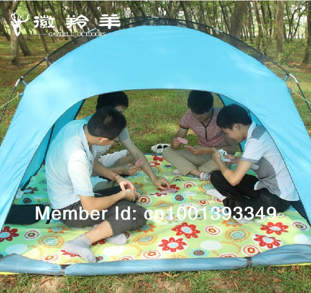 Free Shipping High Cost Effective 4 Person Tent Family Tent