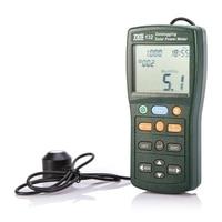 TES 132 Handheld Solar Power Meter Tester 400 1Knm Range 2000W/m2 & 634Btu/(ft2*h) Data Logger SD Card 2G USB