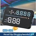 HERRAMIENTA OBD 3.5 Pulgadas HUD Head Up Display A3 A3 Disponible para cualquier Coche con GPS Head Up Display OBD2 OBDII Enchufe Fácil y jugar