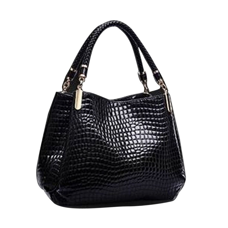 Famous Designer Brand Crocodile Bags Women Leather Handbags 2017 Luxury Ladies Hand Bags Purse Fashion Shoulder Bags Bolsa Sac