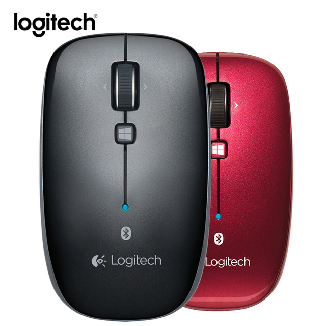 Souris de bureau sans fil Bluetooth Logitech M557 pour Windows Mac OS