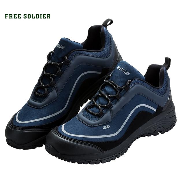 Free Soldier для активного отдыха спортивная Тактическая Военная Мужская обувь износостойкая, нескользящая для Кемпинг пеший туризм