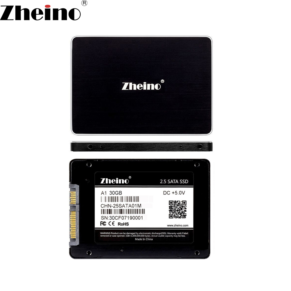 2.5 Zheino 30GB 32GB 60GB 64GB 120GB 128GB 240GB 256GB 480GB 512GB SSD SATA3 Internal Solid Disk Drives Hard Drive for PC Laptop ipod video 30gb 60gb 80gb lcd screen original
