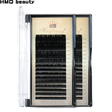 16Rows/Case 7~15mm Mix 3d mink lashes Premium Natural Synthetic Mink Individual Eyelash Extension Makeup The Patches For Eyelash mink keer 7 41