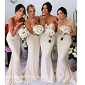 New Fashion Beaded Sweetheart Off the Shoulder Long Bridesmaid Dresses Custom Made Mermaid Wedding Party Dress Formal Gowns