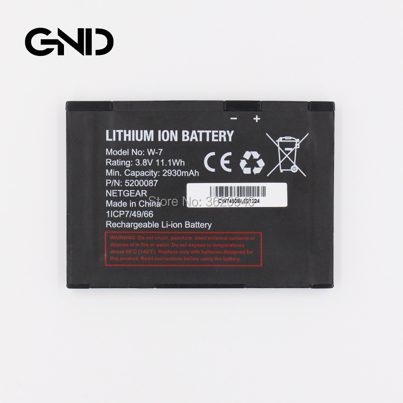 Gnd 2930mah111wh 38v 5200087 W7 W 7 Battery For Netgear Aircard