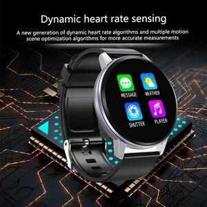 Image 2 - חכם צמיד ליגע IP67 עמיד למים כושר שעון Bluetooth חיבור אנדרואיד Ios לחץ דם צג מד צעדים צמיד