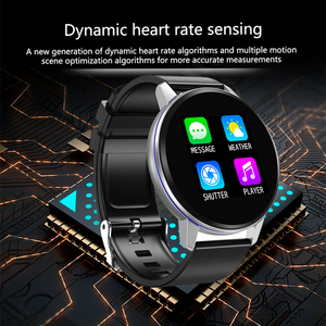 Image 2 - Smart Bracelet LIGE Health Monitor Heart Rate / Blood Pressure / Waterproof Pedometer Mens and Womens Watches Sports Bracelet
