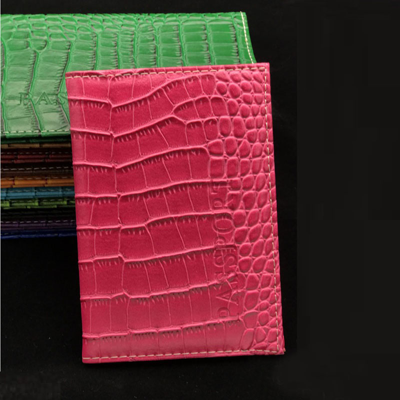 Wholesale High Quality PU Leather Passport Cover Fashion Card Id Holders Travel Case Women ID Credit Holder Wallet