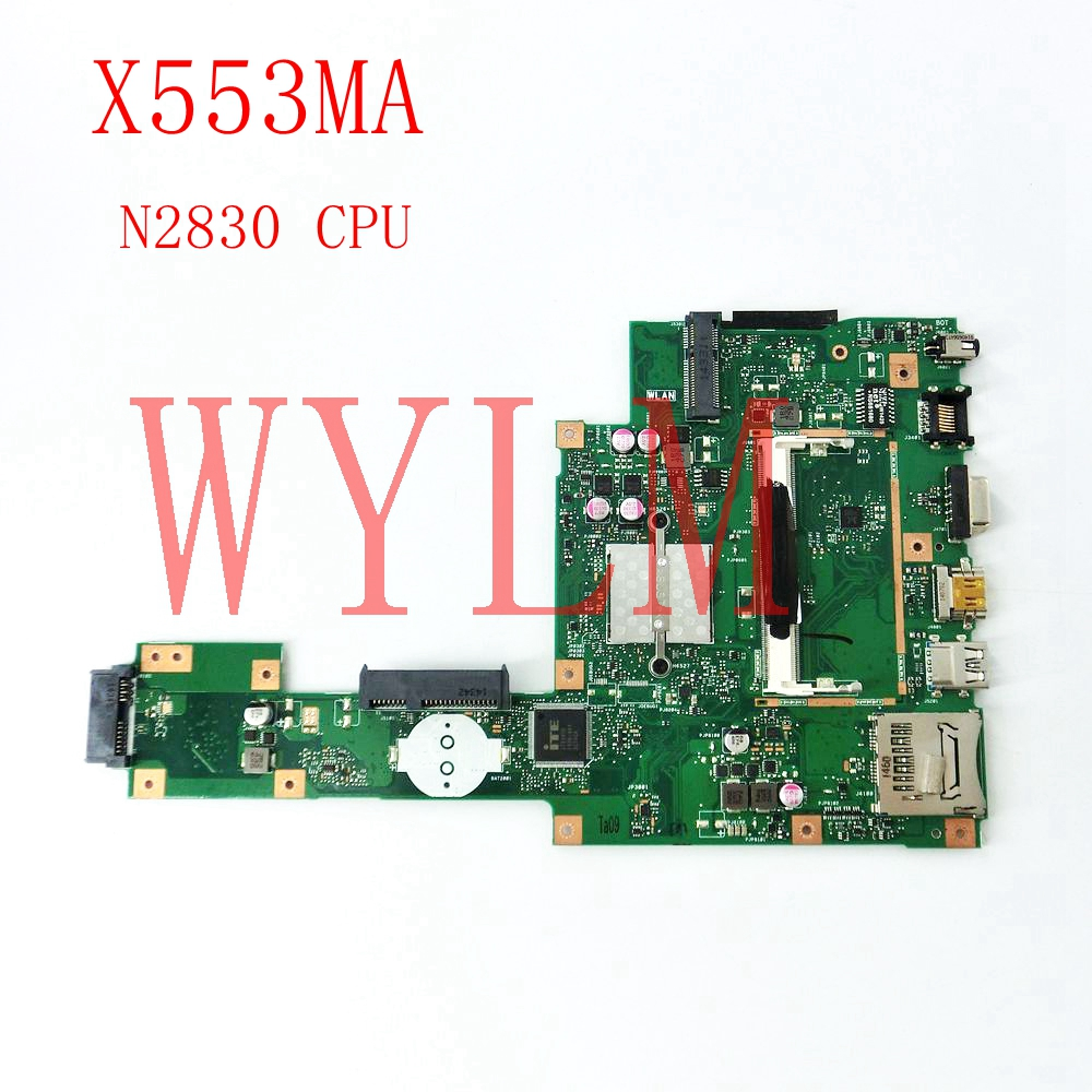 X553MA With N2830CPU mainboard REV2.0 For ASUS F503M X503M F553MA X503MA D503M X553MA Laptop motherboard Tested Working все цены