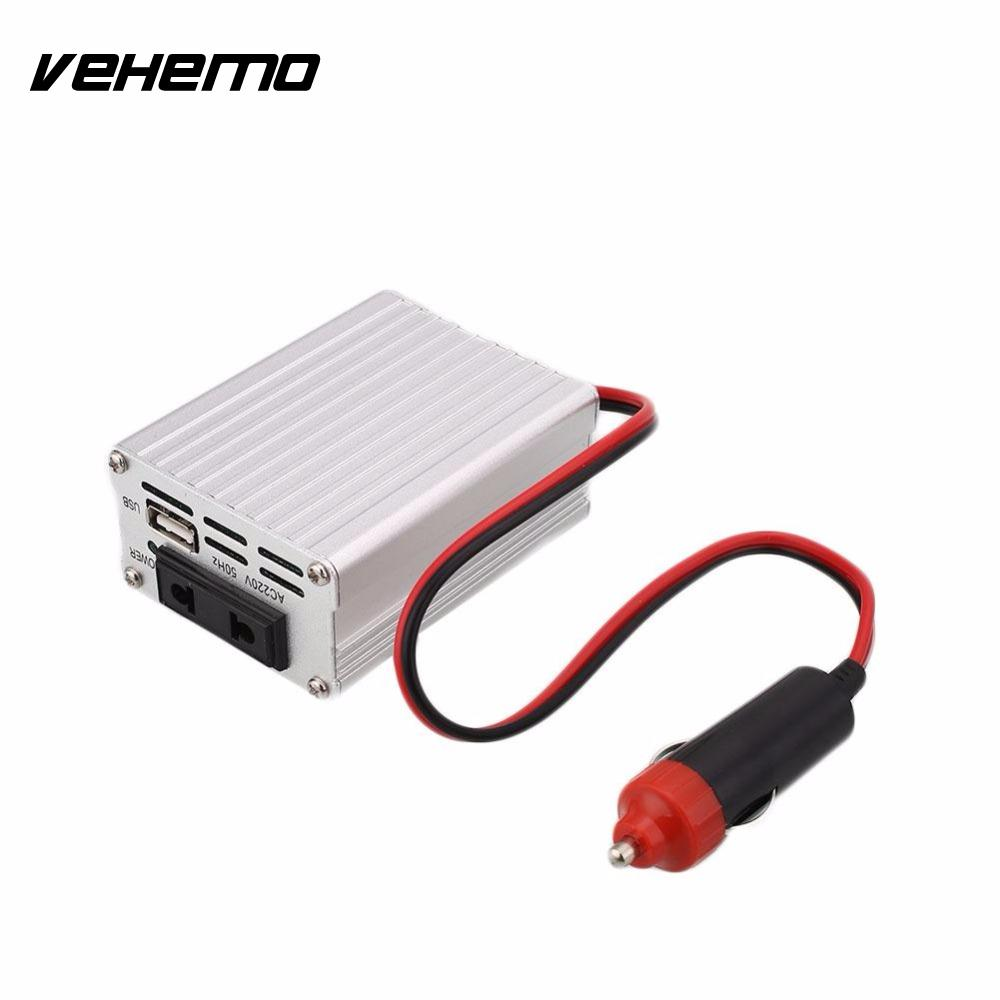 1pcs 200w car power inverter converter dc 12v to ac 220v modified sine wave power with