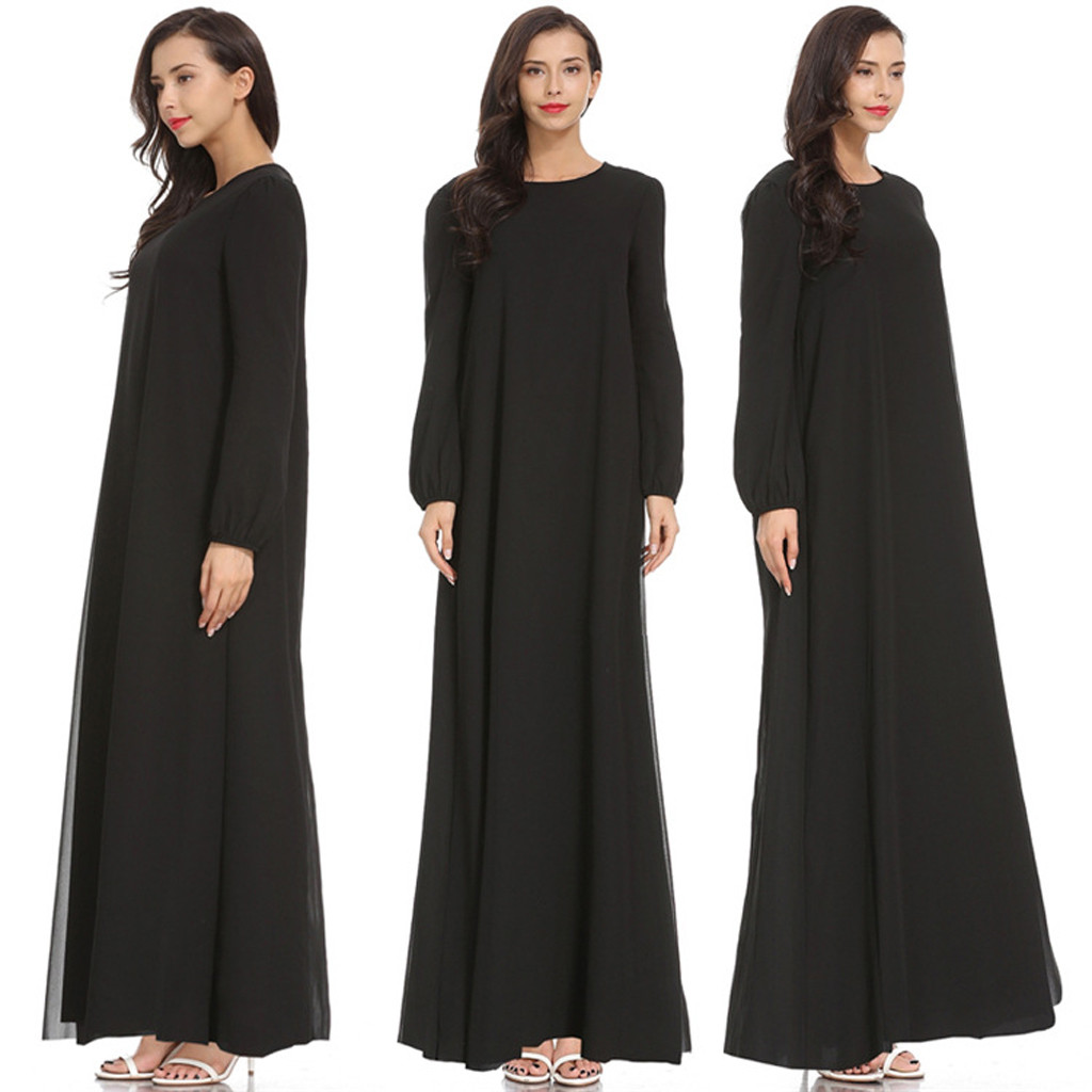Muslim Flower Dresses Abaya Cardigan Kimono Long Robe Gowns Tunic Jubah Middle East Ramadan Arab Islamic Prayer Clothing 4.12