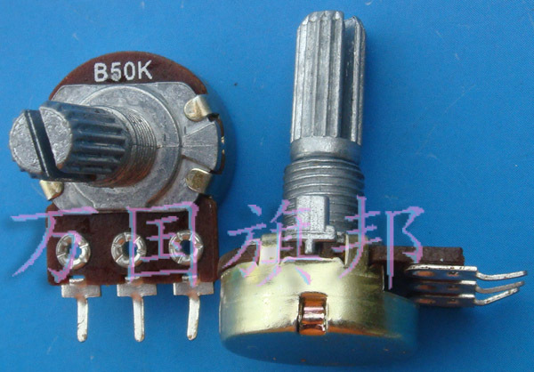 The Free Delivery.WH148 potentiometer B50K tripod single long handle