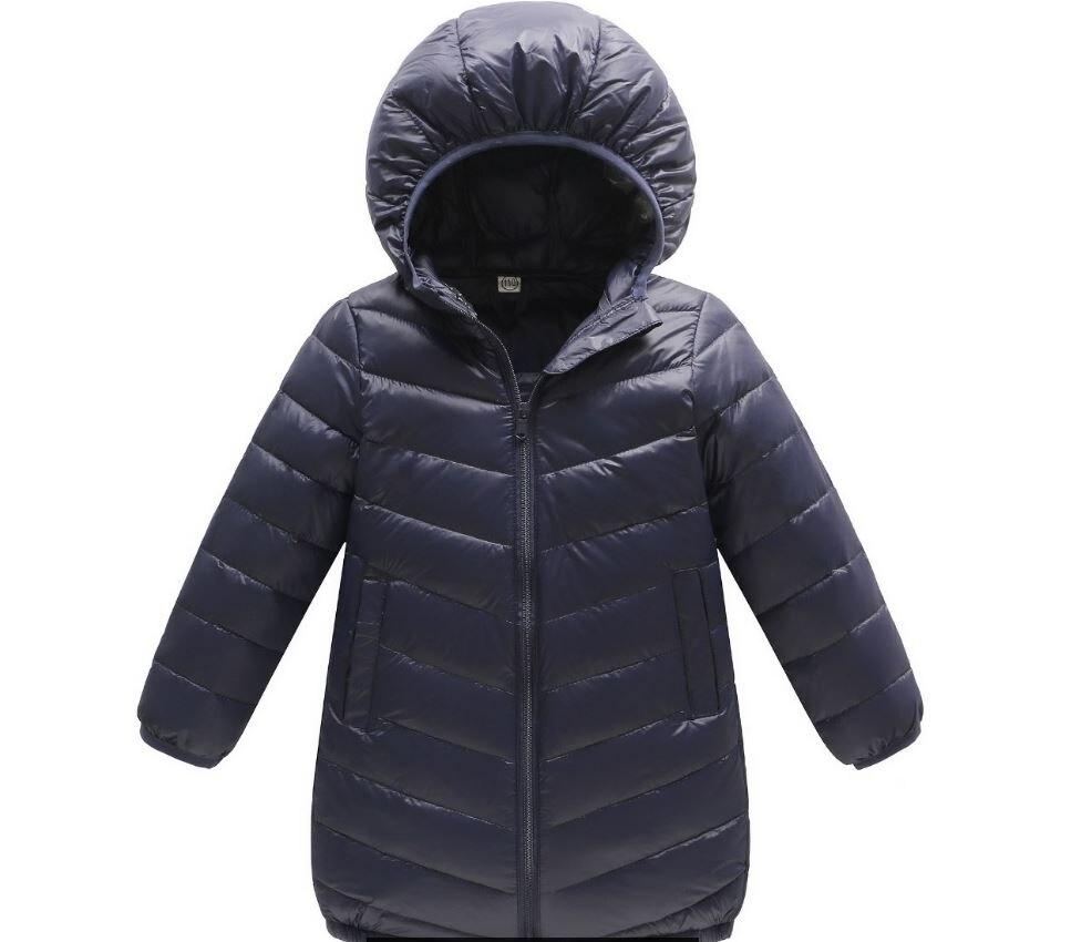 Manteau d'hiver pour enfants en bas âge long manteau vestes et parcs pour garçons filles snowsuit enfants vêtements d'extérieur bébé hiver tissu 2017