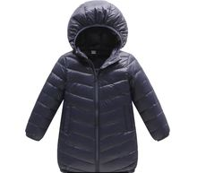 Winter coat for toddlers Children long coat down jackets and parks for boys girls snowsuit kids outwear infant winter cloth 2017