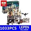 1033Pcs 16029 Model Building Kit Compatible With Lego 5378 Harry Potter Bricks Magic Hogwort Castle 3D