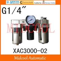 Hoge kwaliteit XAC3000-02 serie luchtfilter combinatie frl poort g1/4
