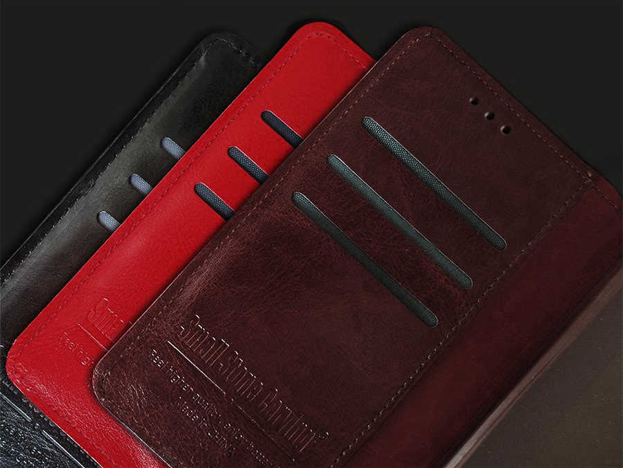 For Doogee Y300 Case Luxury Wallet PU Leather Back Case Cover For Doogee Y300 Pro Case Flip Protective Phone Bag Skin With Solts