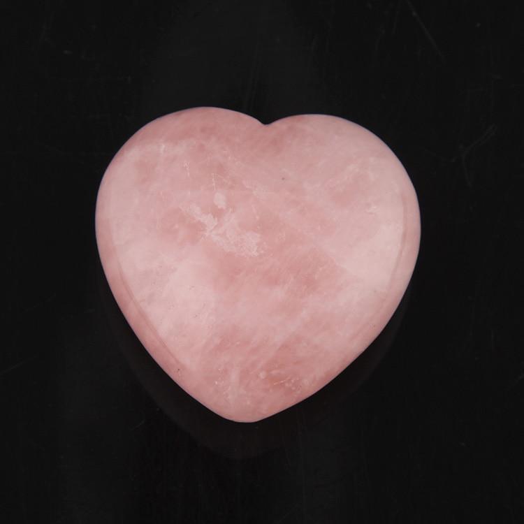 2015 45mm Rose Quartz fluorite lapis Heart Shape Crystal Chakra Stone Carved Healing Reiki Free shipping